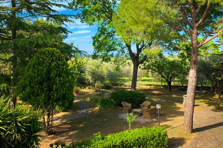 Villa Maria Osimo Bed&Breakfast Giardino